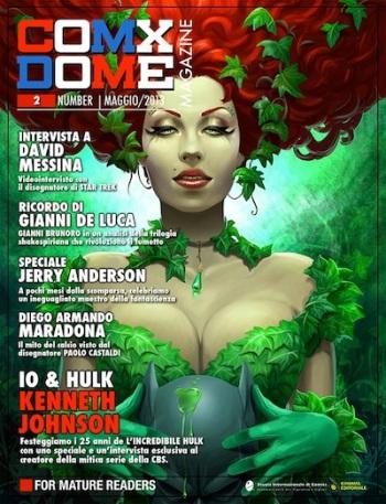 La copertina del numero 2